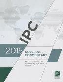 2015 International Plumbing Code Commentary  Includes Ipsdc