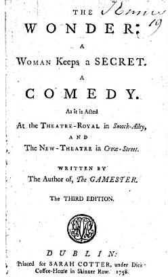 The Wonder  a Woman Keeps a Secret  A Comedy
