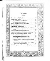 Holy Baptism: Prayers, Meditations, and Select Passages on the Sacrament of Baptism with the Baptismal Offices According to the Use of the English Church