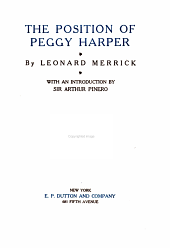 The Position of Peggy Harper