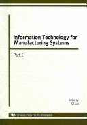 Information Technology for Manufacturing Systems PDF