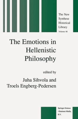 The Emotions in Hellenistic Philosophy PDF