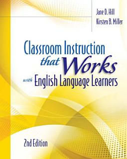 Classroom Instruction that Works with English Language Learners Book