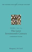 The Oxford English Literary History PDF