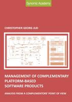 Management of complementary platform based software products PDF