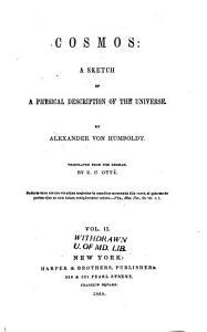 Cosmos  a Sketch of a Physical Description of the Universe PDF