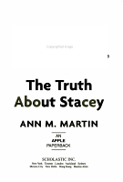 The Truth about Stacey PDF