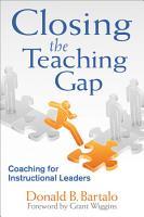 Closing the Teaching Gap PDF