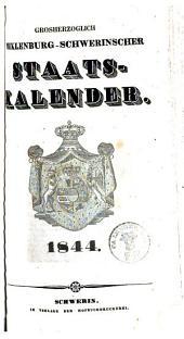 Staatshandbuch für Mecklenburg