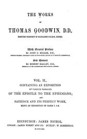 The works of Thomas Goodwin: Volume 2