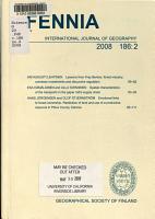 Bulletin de la Soci  t   Geographique de Finlande PDF