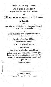 Theses medicae
