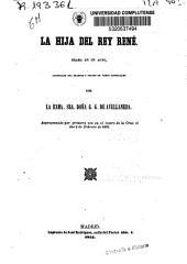 La hija del Rey René: drama en un acto