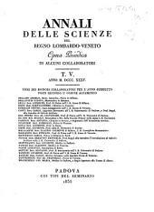 Annali delle scienze del Regno lombardo-veneto: Volume 5