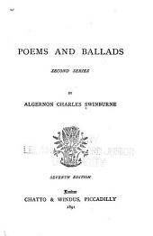 Poems and Ballads: Second Series