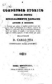 Compendio storico della poste specialmente romane antiche e moderne