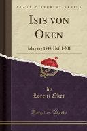Isis Von Oken PDF