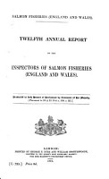 Annual Report of the Inspectors of Salmon Fisheries  England and Wales  PDF