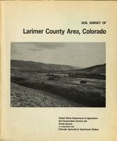 Soil Survey of Larimer County Area  Colorado PDF