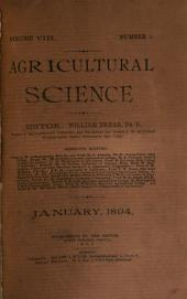 Agricultural Science: Volume 8