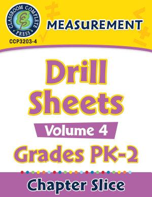 Measurement   Drill Sheets Vol  4 Gr  PK 2