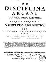 De disciplina arcani