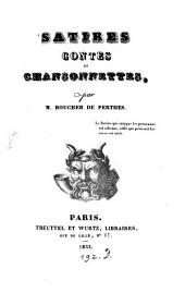 Satires, contes et chansonettes