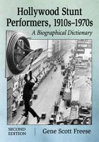 Hollywood Stunt Performers  1910s      1970s PDF