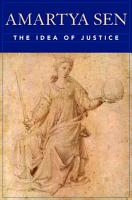 The Idea of Justice PDF