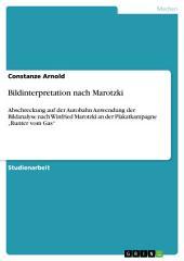 """Bildinterpretation nach Marotzki: Abschreckung auf der Autobahn Anwendung der Bildanalyse nach Winfried Marotzki an der Plakatkampagne """"Runter vom Gas"""""""