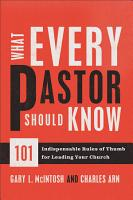 What Every Pastor Should Know PDF
