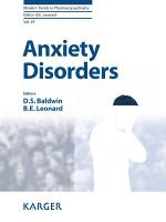 Anxiety Disorders PDF