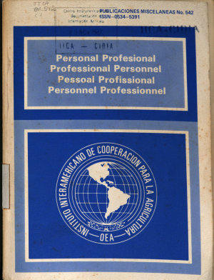 Personal Profesional Professional Personnel Pessoal Professional Personnel Professionnel PDF