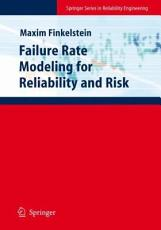 Failure Rate Modelling for Reliability and Risk PDF
