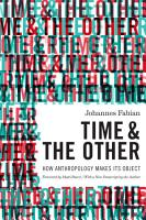 Time and the Other PDF