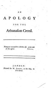 An Apology for the Athanasian Creed..