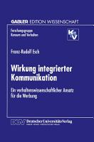 Wirkung integrierter Kommunikation PDF