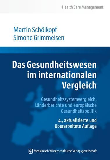 Das Gesundheitswesen im internationalen Vergleich PDF