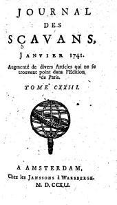 Le Journal des Scavans: Volume123