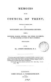 Memoirs of the Council of Trent. [With]