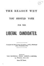 The reason why you should vote for the Liberal candidates: Volume 22