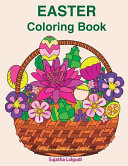 Easter Coloring Book: 30 Simple Designs for Adults in Large Print