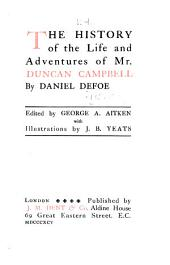 Romances and Narratives: History of the life and adventures of Mr. Duncan Dampbell