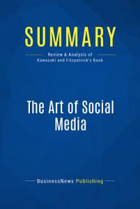 Summary  The Art of Social Media PDF