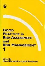 Good Practice in Risk Assessment and Risk Management
