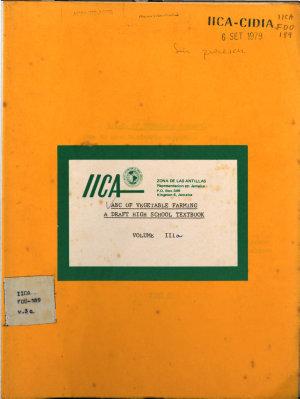 ABC of vegetables farming a draft high school textbook  Volume IIIa PDF
