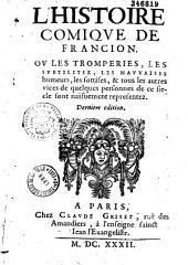 Histoire comique de Francion: Volume2