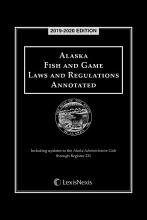 Alaska Fish and Game Laws and Regulations Annotated PDF