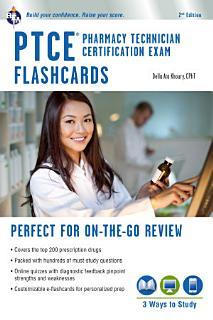 PTCE   Pharmacy Technician Certification Exam Flashcard Book   Online Book