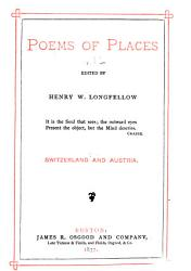 Poems of Places  Switzerland PDF
